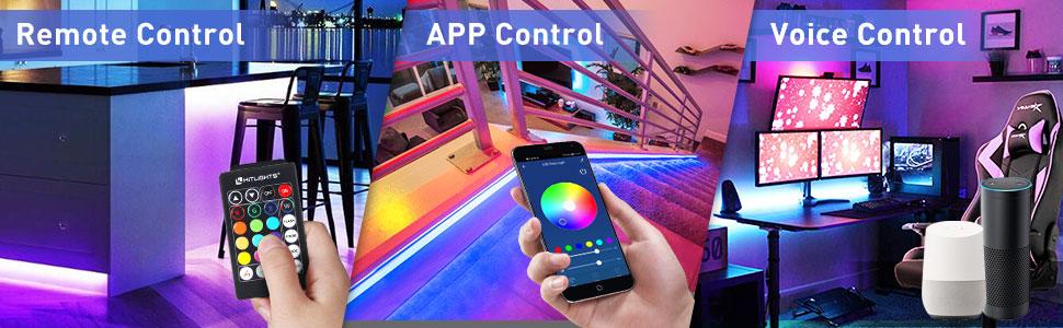 3 Way control LED Lights