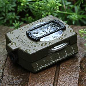 Waterdicht en schokbestendig prismatisch kompas.