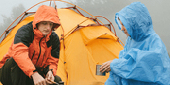 outdoor rain jacket color block rain coats for women