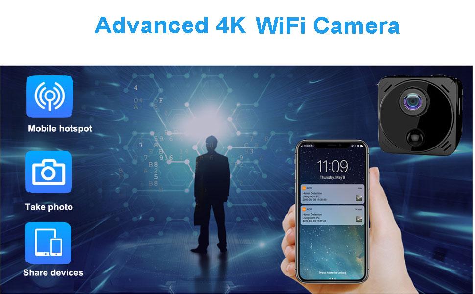 Flashandfocus.com 81b44655-0f73-4f53-b07a-fe818a47da8d.__CR0,0,970,600_PT0_SX970_V1___ 4K HD Spy Camera Wireless Hidden Camera WiFi Long Battery Life Mini Real-time Remote View Mini Convert Camera with Phone…