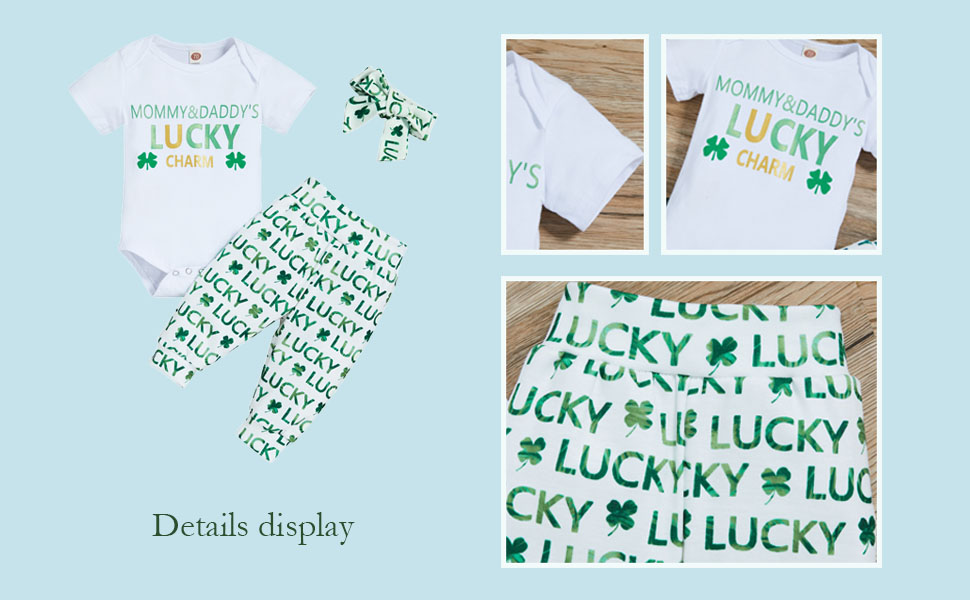 baby girl romper and pants