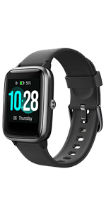 yamay smart watch for men women android samsung iphone