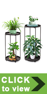 2 Tier Metal Plant Stand