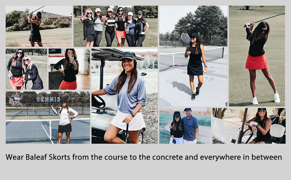 women golf skorts