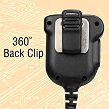 360 ° Back Clip of the MIC