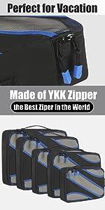YKK Packing Cubes
