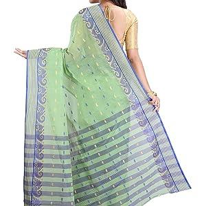 tant saree pure cotton