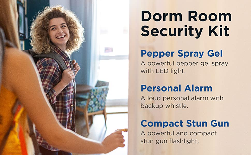 Strong pepper spray formula. Sprays can reach up to 12–18 feet. Effects last for up to 45 minutes.