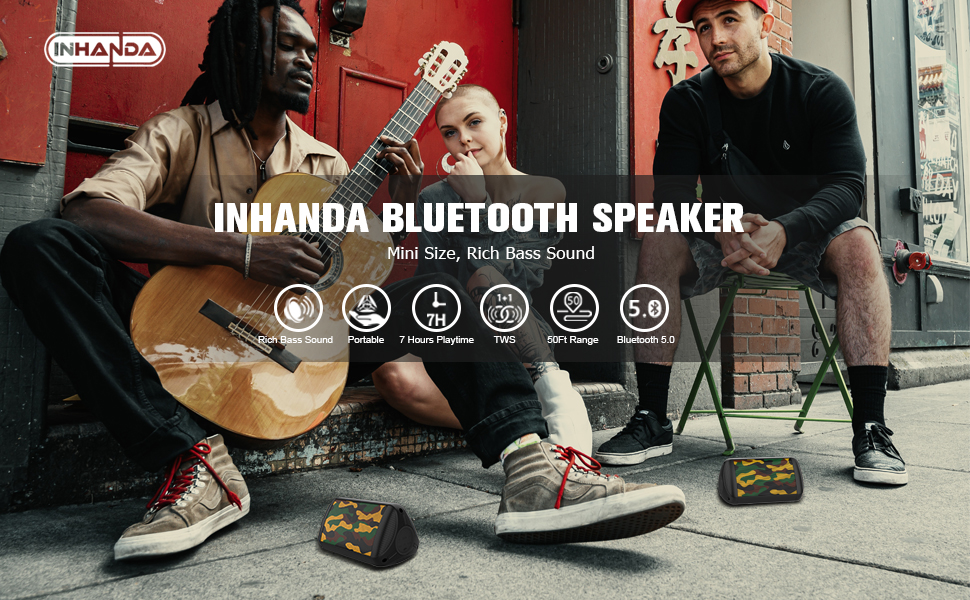 INHANDA bluetooth speaker