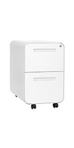 Stockpile Curve 2-Drawer File Cabinet