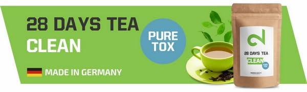 DUAL 28 Days Detox Tea - Té desintoxicante | Para Pérdida de Peso ...
