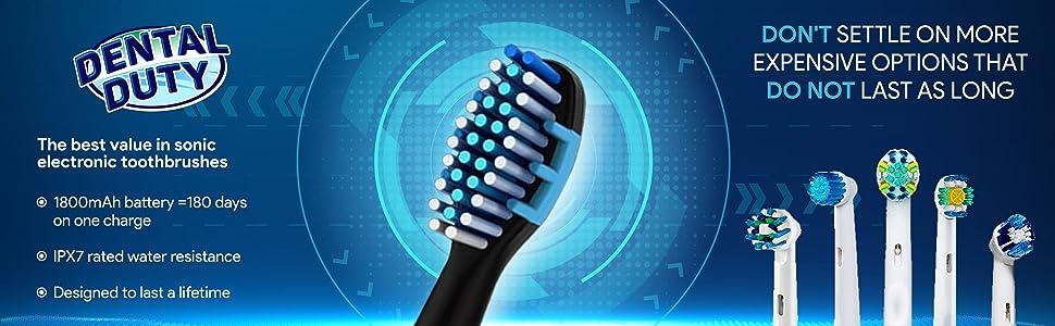 sonic toothbrush