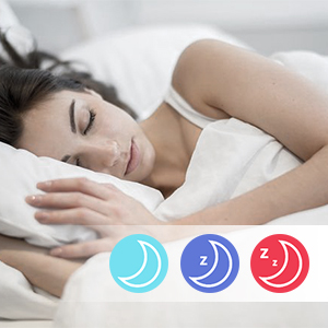 Auto Sleep Tracker & Vibration Alarm Clock