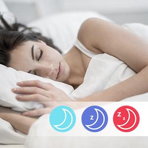 Auto Sleep Tracker & Vibration Alarm Clock