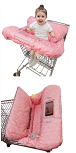 baby shopping cart covers for baby girl