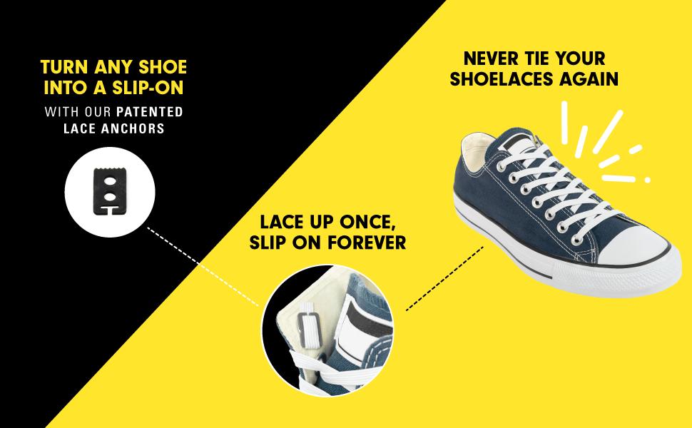 Amazon.com: Xpand No Tie Shoelaces