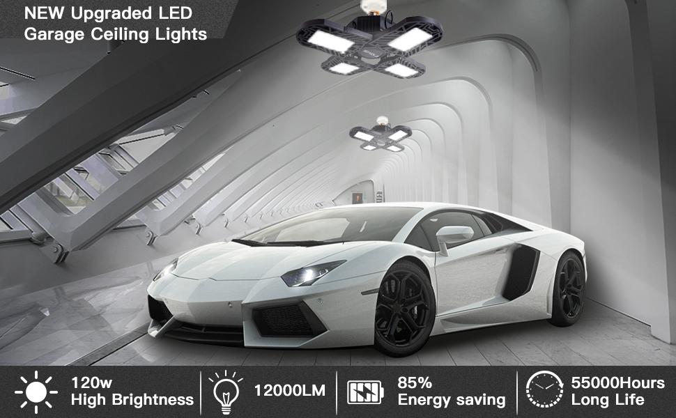 deformable Led garage light