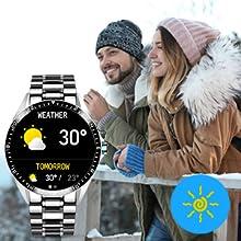 smart watch weather