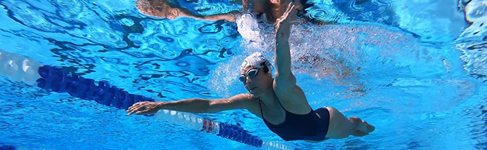 Swim with music