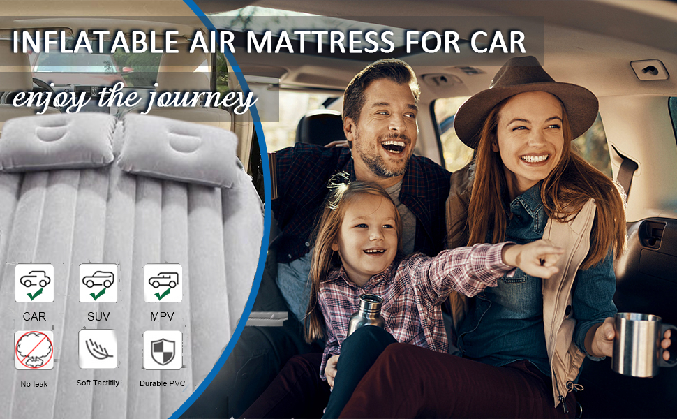 LEOPAX Inflatable Travel Car Bed
