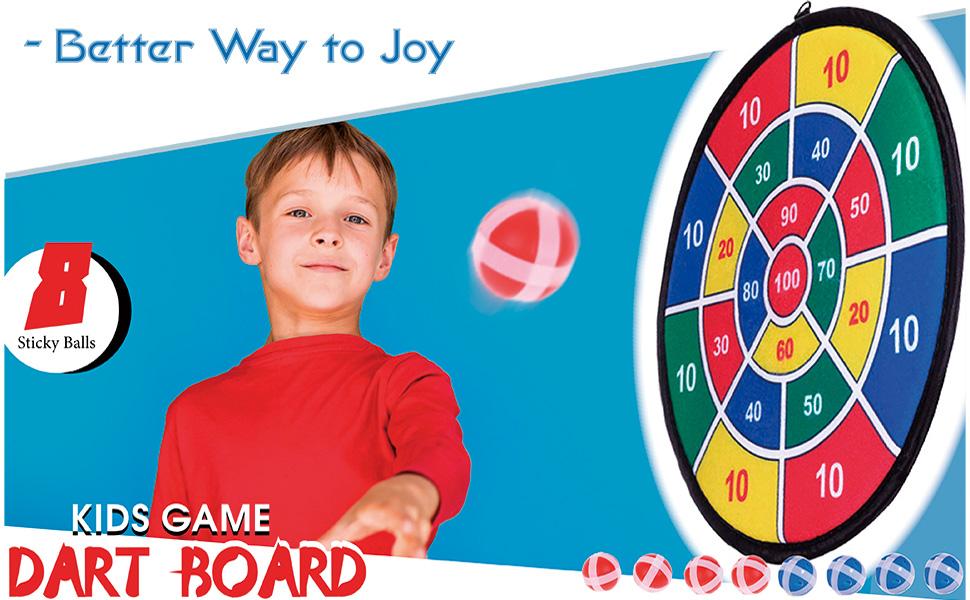 kids game dart board set