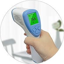 Non-contact temperature measurement