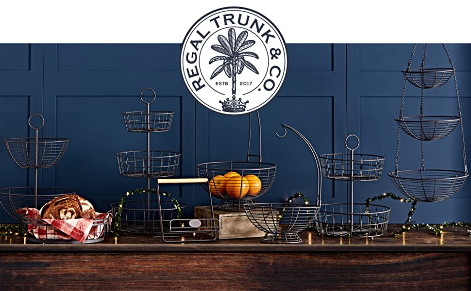 Regal Trunk & Co. French Wire Basket Series