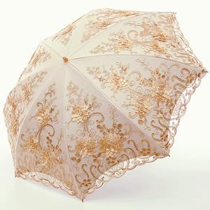 yellow lace parasol