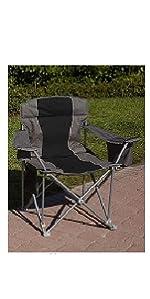 LivingXL 1000-lb. Capacity Heavy-Duty Portable Oversized Chair,