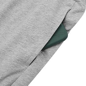 men running shorts with phone pocket