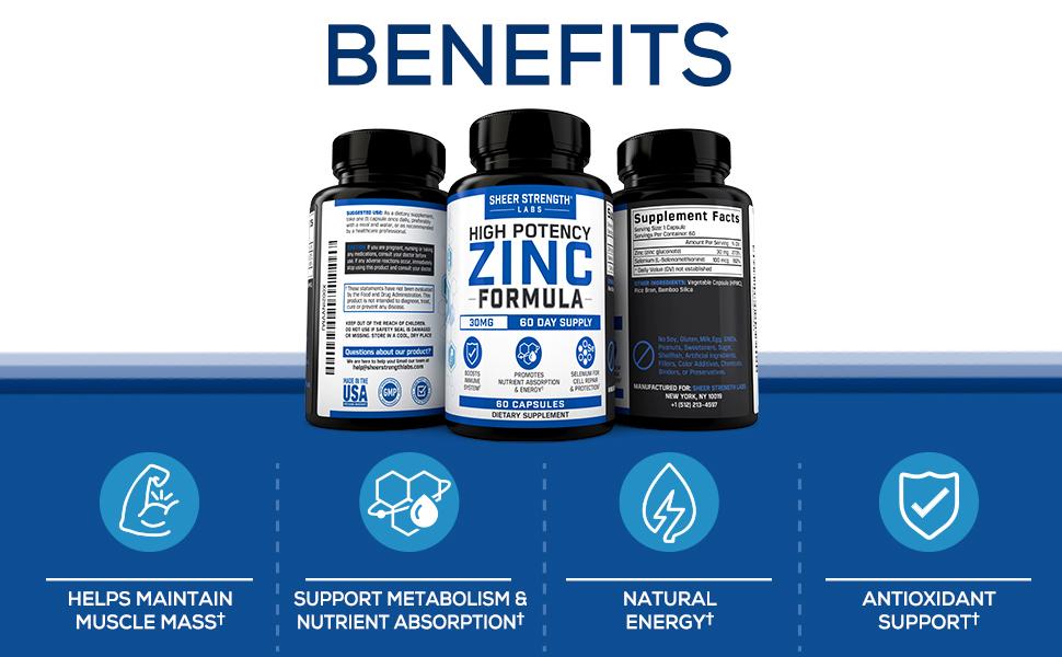 zinc lozenge zinc supplements zinc 50mg