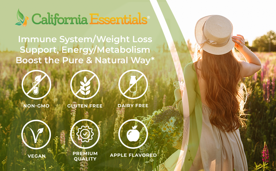 California essentials natural supplement energy