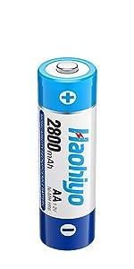 2800mah aa battery