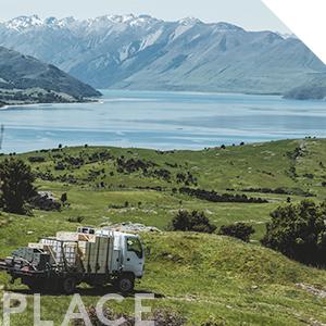 New Zealand Honey Co. Manuka Honey Hives in South Island of New Zealand