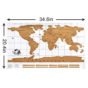 world scartch off map