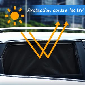 Fansport 2pcs fen/être de Voiture Ombre Animaux Mignons Protection UV Soleil Voiture Ombre Bouclier de fen/être de Voiture pour la Voiture