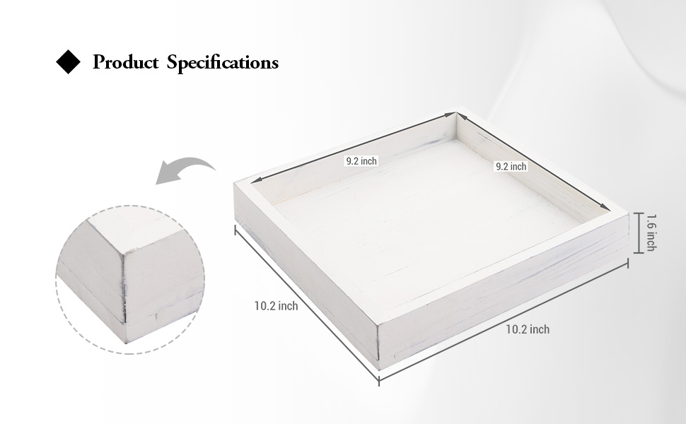 10 Square Serving Tray