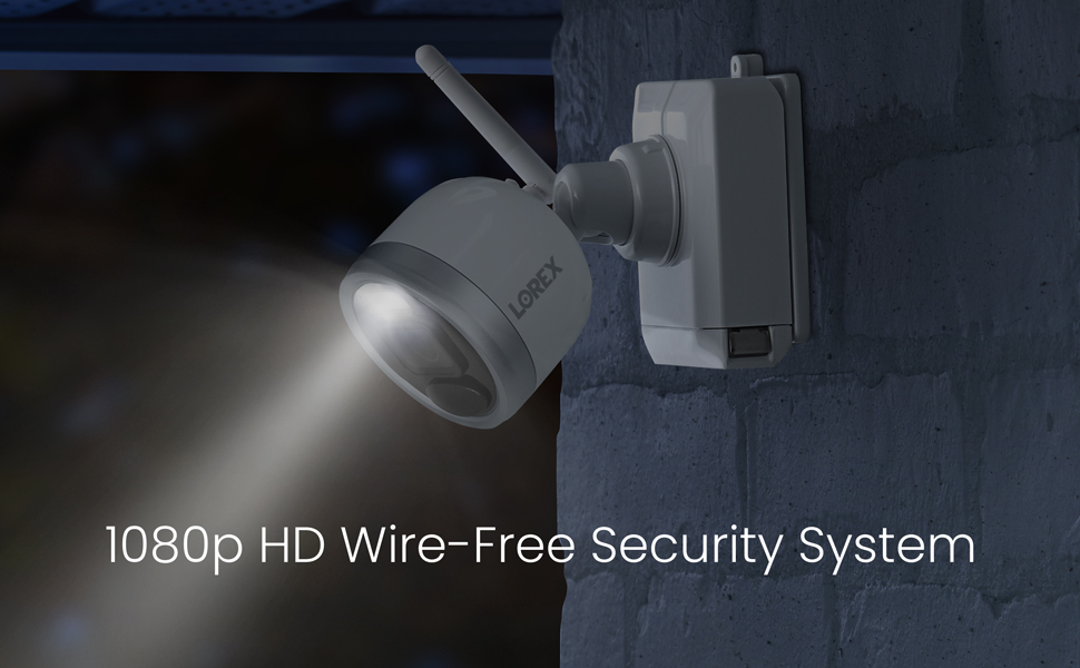Wire-free, security system, 2 camera,