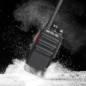 walkie talkie con cargador