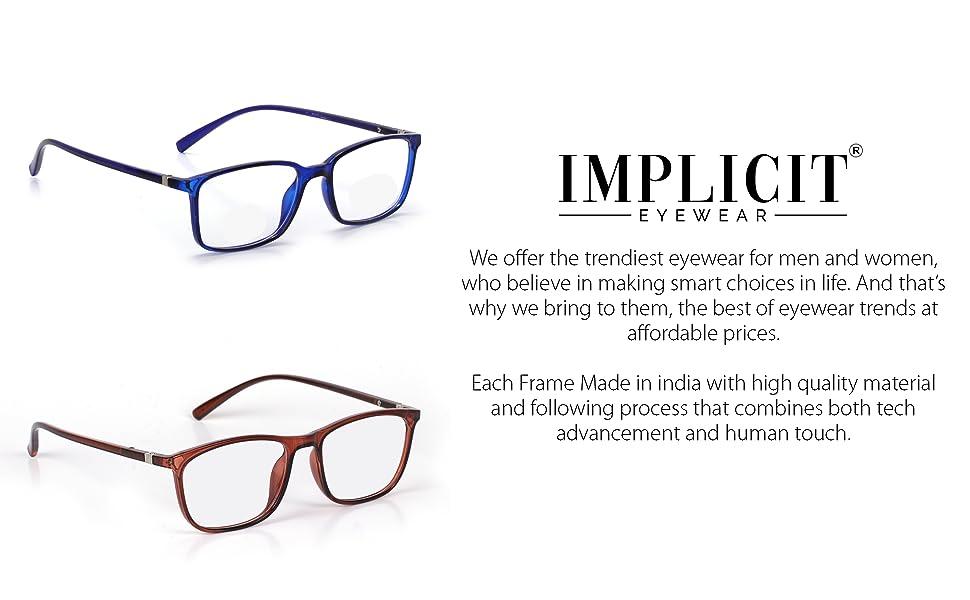 implicit blue light Blocking Reading glasses