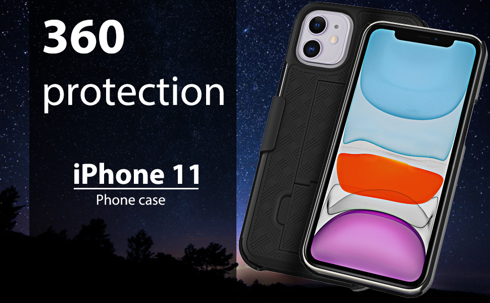 iPhone 11 with Screen Protector