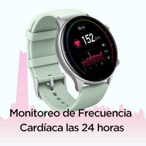 Monitoreo de frecuencia cardíaca las 24 horas