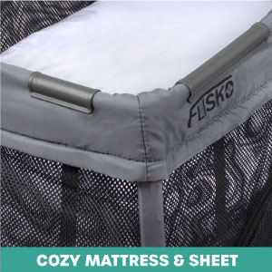 mattress included, comfortable, baby mattress, sheet