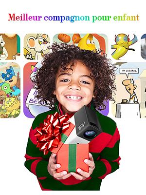 cadeau de noel pour les enfants -MINI PICO PROJECTEUR
