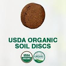 organic soil discs