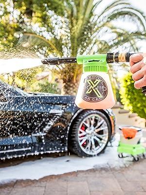 high quality foam gun washing technique safer washing scratch free super suds car wash