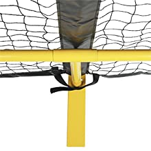 pickleball net regulation size