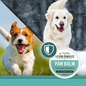 Protect your pet's nose and paws