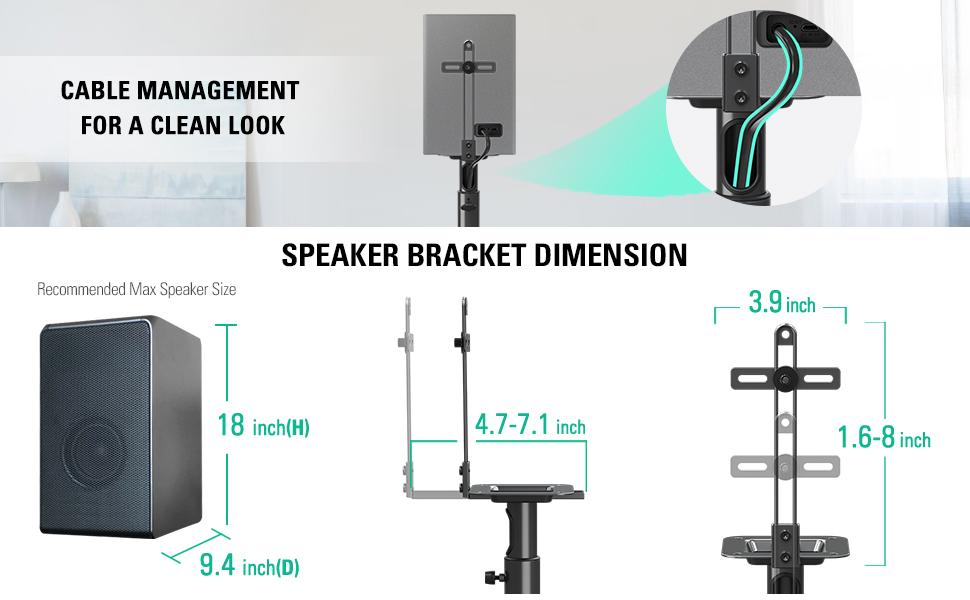 Speaker Stand Pair