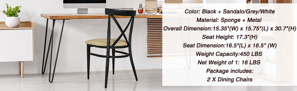 dining chair's feature